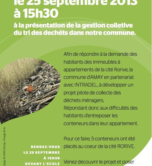 Venez découvrir la gestion collective des déchets à Amay