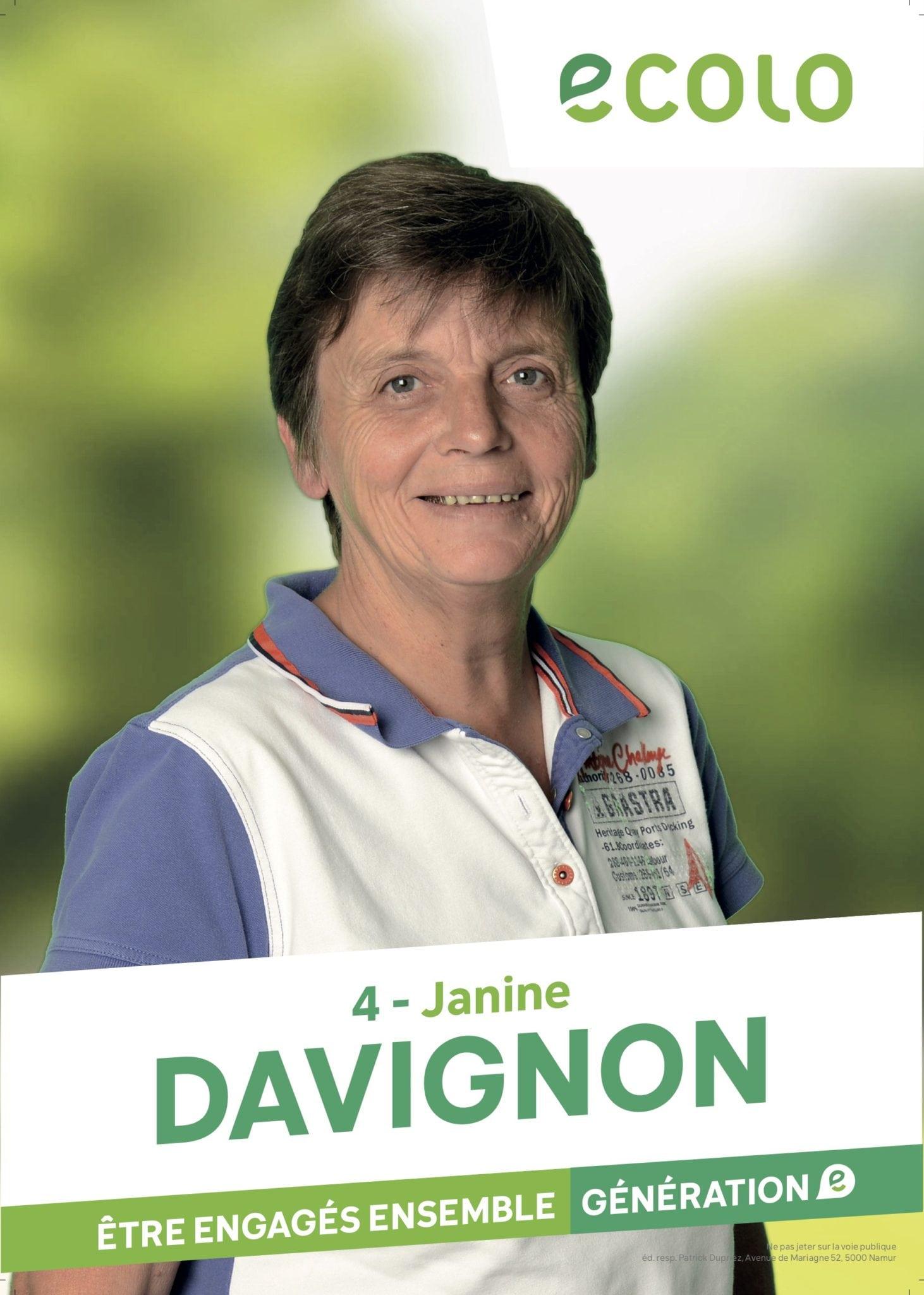 Janine Davignon